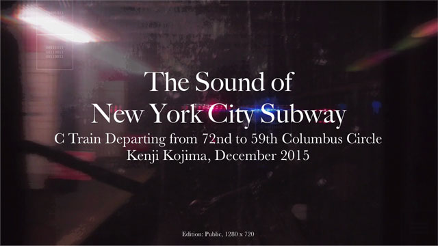 Synesthesia in Art and Technology / Algorithmic Composition / Kenji